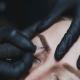 cosmetically tattooed eyebrows